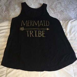 Tops - Mermaid Tribe racerback tank
